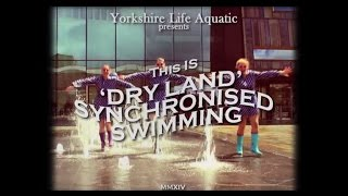 This is Dry Land Synchronised Swimming