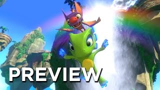 Yooka-Laylee Preview - One Of The Best Platformers Of 2017