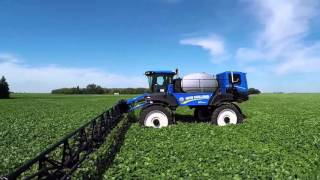 Guardian Front Boom Sprayers from New Holland: Never look back