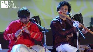 Vathapi Ganapathim   Rakesh Chaurasia & Shashank Subramanyam Flute   Idea Jalsa   Art And Artistes