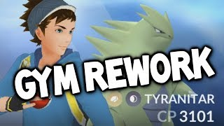NEW UPDATE LEAKED FOOTAGE: GYM BATTLE REWORK! (Pokémon GO Raid Update!)