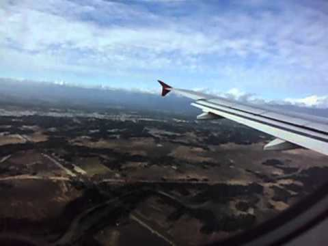 Landing At Silchar Airport Dec 2010(Captured By Kaushik)