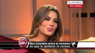 Ariadna Gutiérrez en Al Rojo Vivo - Telemundo