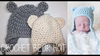 Download HOW TO CROCHET A BEAR HAT 3Gp Mp4
