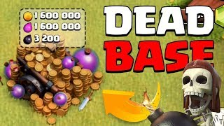 THIS ACCT HAS BEEN DEAD FOR YEARS | Clash of Clans | Full Loot Cart