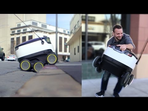 Xxx Mp4 We Tried To Steal Food From A Delivery Robot 3gp Sex