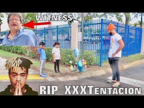 Xxx Mp4 VISITING WHERE XXXTENTACION PASSED AWAY Witness 3gp Sex