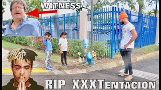 VISITING WHERE XXXTENTACION PASSED AWAY... *witness*