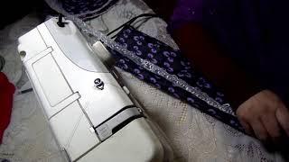 خياطة منزلية _تفصيل وخياطة غطاء المروحة _ الجزء  الثاني الخياطة