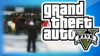 GTA 5 Online Funny Moments 22 - 16 Man Tank Rodeo, Funny Races, and Banana Bus Building Fun!