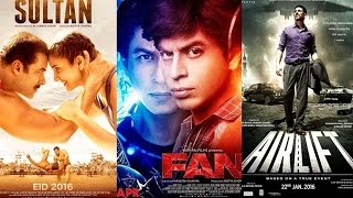Salman Khan's Sultan Will BEAT Shah Rukh Khan's Fan and Akshay Kumar's Airlift