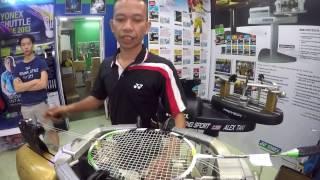 HALIM - The  Pro Racket Stringer