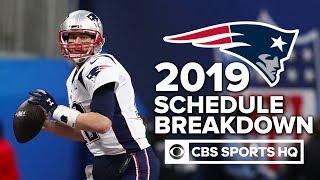 """The Patriots will go 14-2, bare minimum"" - Pete Prisco | NFL Schedule Release"