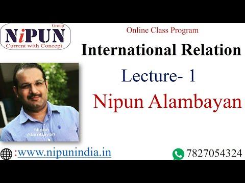 Xxx Mp4 International Relation Introduction By Nipun Alambayan Class 1 3gp Sex