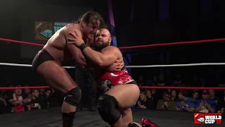 Mike Elgin vs Rene Dupree (Pro Wrestling World Cup Canada - 1st Round)