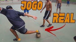JOGO REAL/RACHÃO  - DRIBLES DE FUTSAL - ANÁLISE FOOTZ