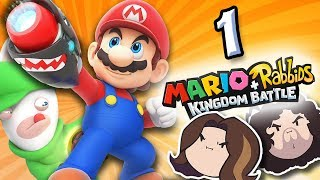 Mario + Rabbids Kingdom Battle: Beep-O - PART 1 - Game Grumps