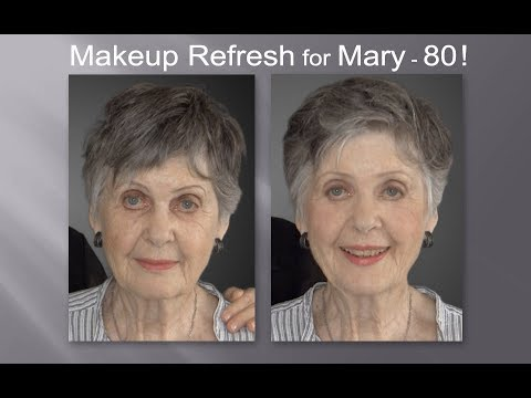 Xxx Mp4 Makeup Hair Refresh Makeover For Model Mary 80 Fast Easy And Effective 3gp Sex