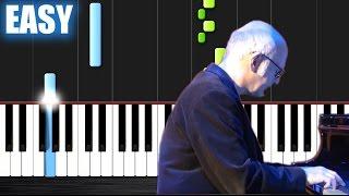 Ludovico Einaudi - I Giorni - EASY Piano Tutorial by PlutaX