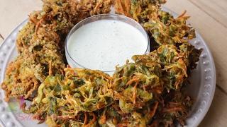 সবজি পাকোড়া || Vegetables Pakora || R# 177