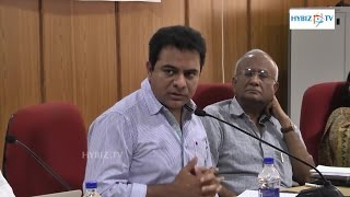 IT Minister KTR Meeting with TSIPARD - Hybiz.tv