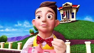 Lazy Town | Stingy Sings The Mine Song Music Video | Lazy Town Songs