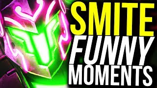 WHAT DID I DO TO DESERVE THIS? - SMITE FUNNY MOMENTS