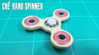 Chế Hand Spinner - Quay tay 3 cạnh siêu hấp dẫn