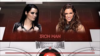 WWE Paige VS Stephanie McMahon Full Match #WWE 2016