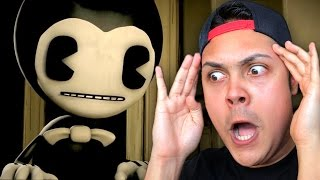 WHEN CARTOONS COME ALIVE !?!? (Bendy and the Ink Machine)