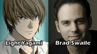 Characters and Voice Actors - Death Note