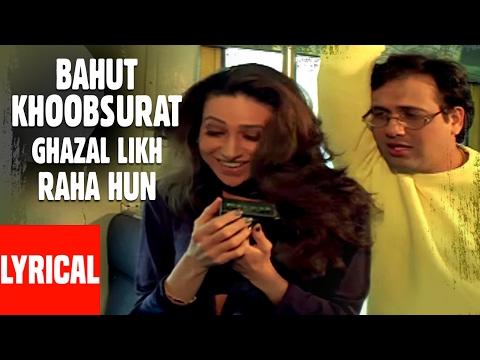 Xxx Mp4 Bahut Khoobsurat Ghazal Likh Raha Hun Lyrical Video Kumar Sanu Shikari Govinda Karishma 3gp Sex