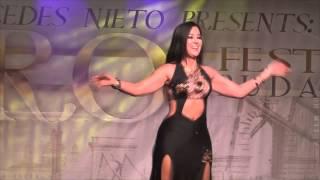 Mercedes Nieto Oriental Dance / Bellydance at the CAIRO! Festival Budapest 2015