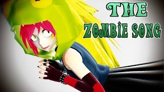 【MMD x Villainous x Heroic】The Zombie Song Demencia and Clementia
