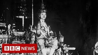 Thai king: Rare footage of 1926 coronation - BBC News