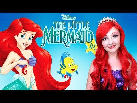 Xxx Mp4 Kids Makeup The Little Mermaid Ariel Princess Disney And Costume Mermaid Tail DRESS UP Play Dolls 3gp Sex