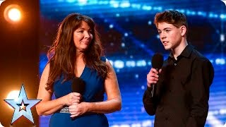 Mel and Jamie bring their special bond to BGT | Auditions Week 7 | Britain's Got Talent 2016
