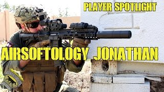 Player Spotlight: Airsoftology Jonathan (HK 416 and ASG P09)