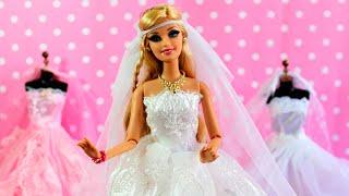 Barbie Beatriz escolhe seu Vestido de Casamento - Novela da Barbie - Parte 36
