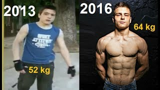 Unbelievable 3 Years Street Workout Transformation - Viktor Kamenov