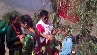 welcome to doshalle village, myagdi