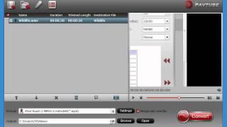 Pavtube HD Video Converter quick demo