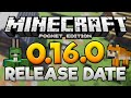Mcpe 0.16.0 Release Date News! - 0.16.0 Features & Update News - Minecraft Pe (pocket Edition)