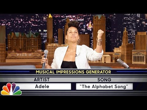 Download Wheel of Musical Impressions with Alicia Keys