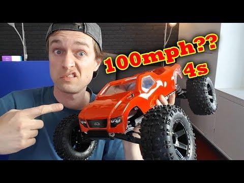 Xxx Mp4 Traxxas Rustler VXL Hopups Will It Do 100mph On 4s Hobbywing 3gp Sex