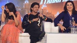 Shahrukh Khan JOKES around at Happy New Year TRAILER LAUNCH