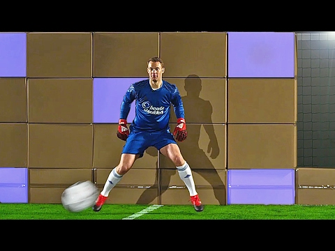 Download freekickerz vs. Manuel Neuer - Ultimate Football Challenges