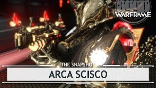 Warframe: Arca Scisco, HOLY SHIT Its FANTASTIC! - 3 Forma Build [thesnapshot]