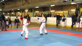 Hayashi Cup 2014 / Tukums Open - 17 (WKF) Girls karate-kumite.