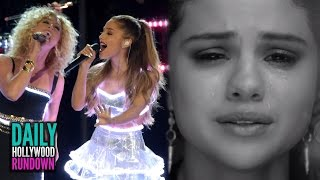 Selena Gomez's Tearful Music Video About Justin- Ariana Grande Performs at CMA Awards (DHR)